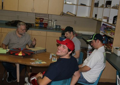 Guys' Night at The Wolf Den means casino games!